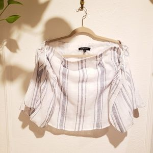 Romeo + juliet off shoulder top